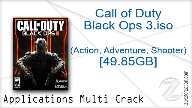 Call of Duty Black Ops 3.iso (Action, Adventure, Shooter) [49.85GB]