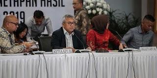 KPU Tetapkan Jokowi-Ma'ruf Sebagai Pemenang Pilpres 2019