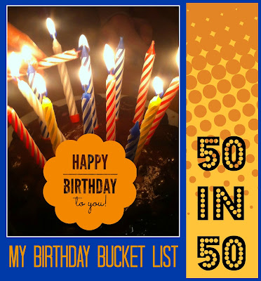 2017 Goals - 50 in 50 - on Homeschool Coffee Break @ kympossibleblog.blogspot.com - This is my birthday bucket list for the year!