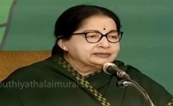 Jayalalithaa speech after AIADMK's election manifesto release