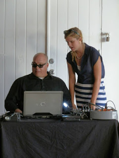 DJ Paul Gonzalez Chavez With Weddings in Vieques Account Executive Kelsi Welch
