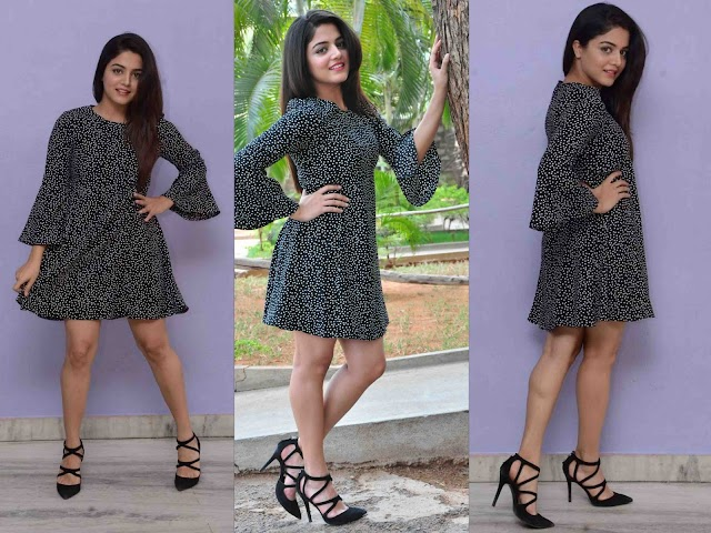 Wamiqa Gabbi Hot Milky Thigh Photos