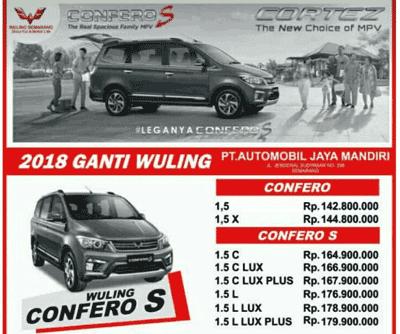 Promo Kredit Wuling Confero Semarang