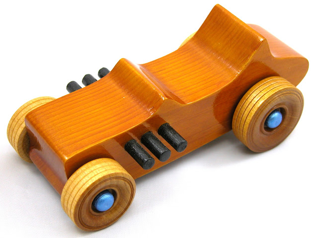 Wooden Toy Car - Hot Rod Freaky Ford - 1927 Ford - Bucket-T - T-Bucket - 572786417