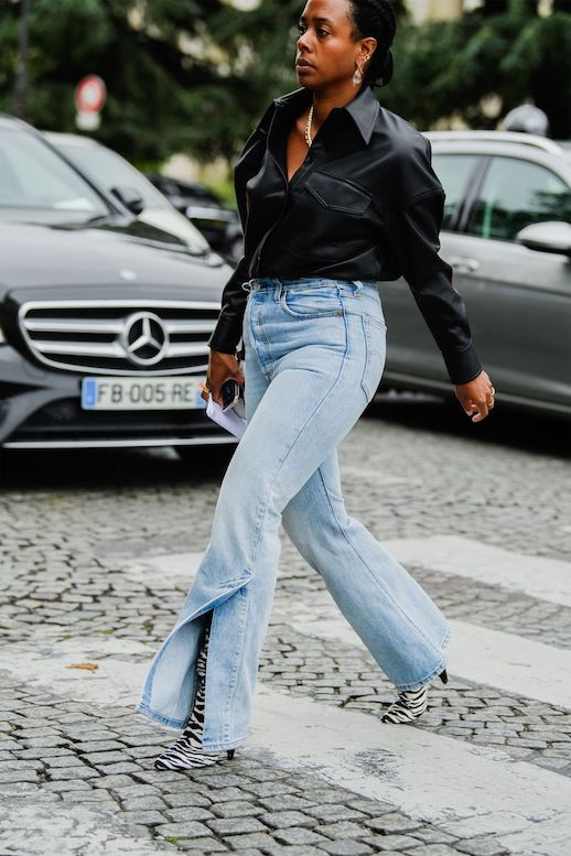 19 Sleek Leather Shirts to Buy This Season – Street Style Inspiration