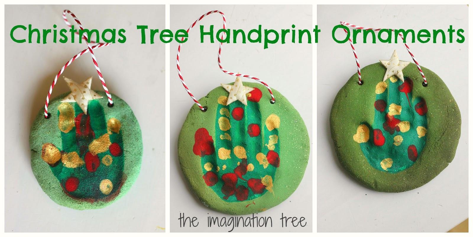 christmas tree handprint - photo #36