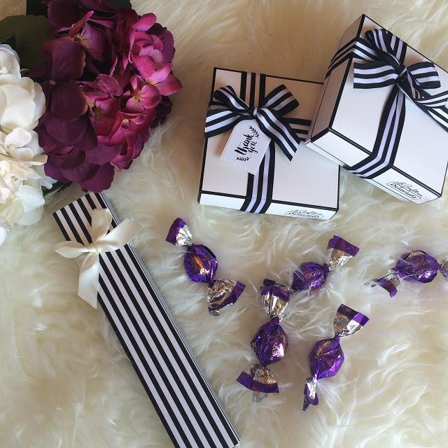 Cajas para eventos, regalos invitados Delaviuda