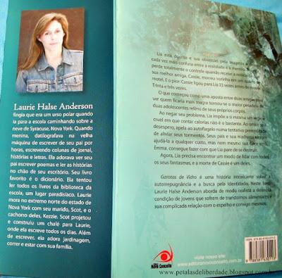 Resenha, Garotas de vidro, Laurie Halse Anderson