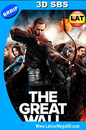 La Gran Muralla (2016) Latino HD 3D SBS 1080P ()