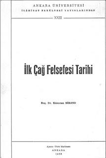 Kamiran Birand - İlk Çağ Felsefe Tarihi