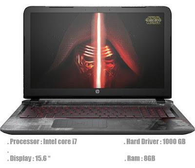 HP 15t Star Wars Intel Core i7