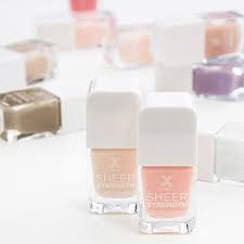 Formula X Sheer Strength Nail Color - with swatches!