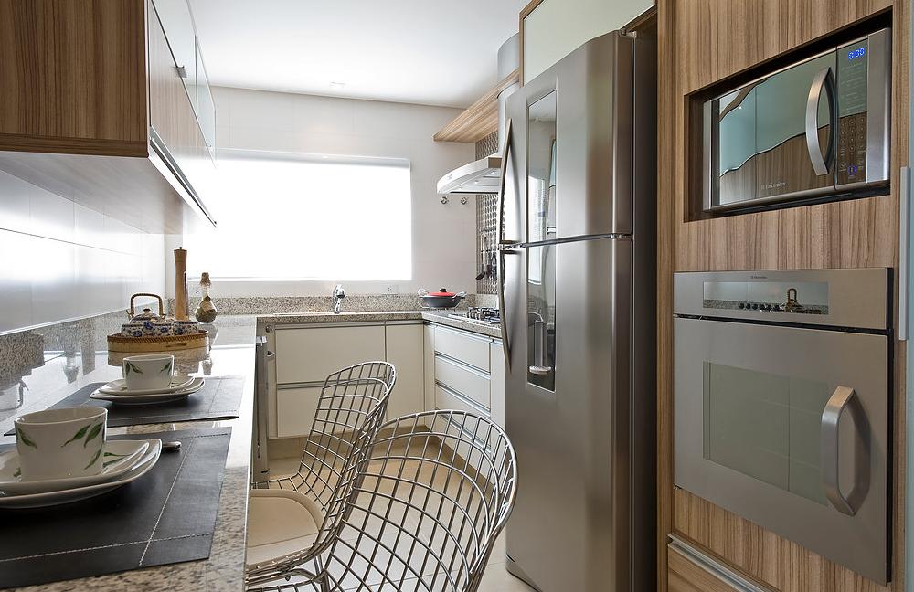 Cozinhas com bancadas de granito branco!  DecorSalteado # Bancada De Cozinha Granito Branco