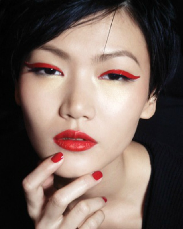 BEAUTY: Red Eye Makeup