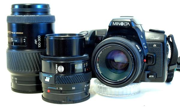 Minolta Alpha Sweet, AF lenses