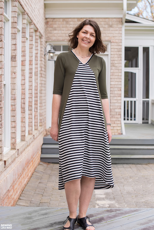 Eden Knit Dress, Style Arc