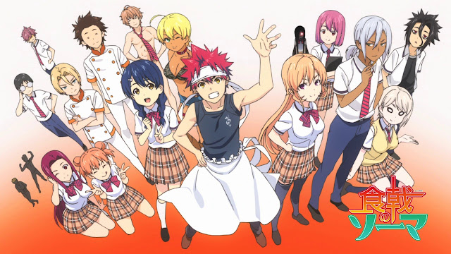 Shokugeki no Souma (Temp. 3) - Episodio 1 - Mega