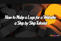 How to make a logo for a website