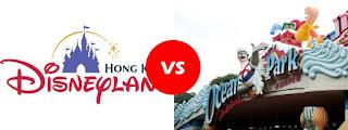 Hong Kong Disneyland vs Hong Kong Ocean Park