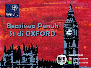 Reach Oxford Scholarship: Beasiswa Penuh Undergraduate (S1)