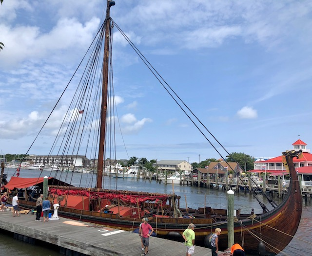 photo of Draken Harald Hårfagre docked in Lewes, Delaware