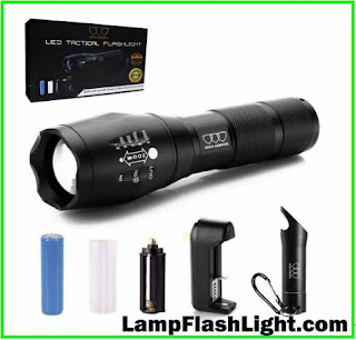 Gold Armour Flashlight Tactical A1000