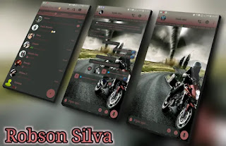 Lonely Racer Theme For GBWhatsApp By Robson