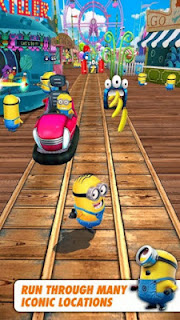 Despicable Me Minion Rush MOD APK 4.4.0k Udpate (Unlimited Gru Coins) Terbaru 2017
