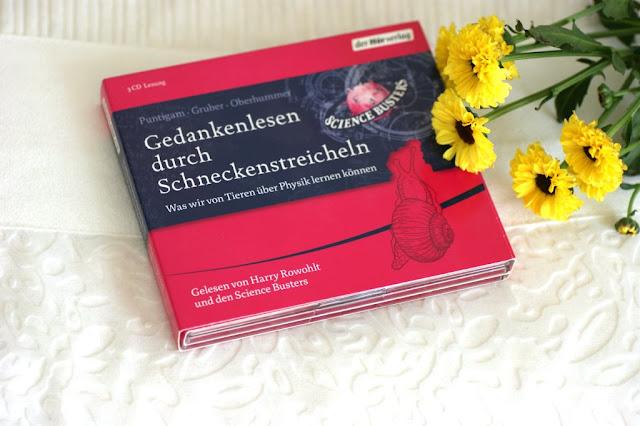Rezension Gedankenlesen durch Schneckenstreicheln - Science Busters www.nanawhatelse.at Der Salzburger Buch-Blog.