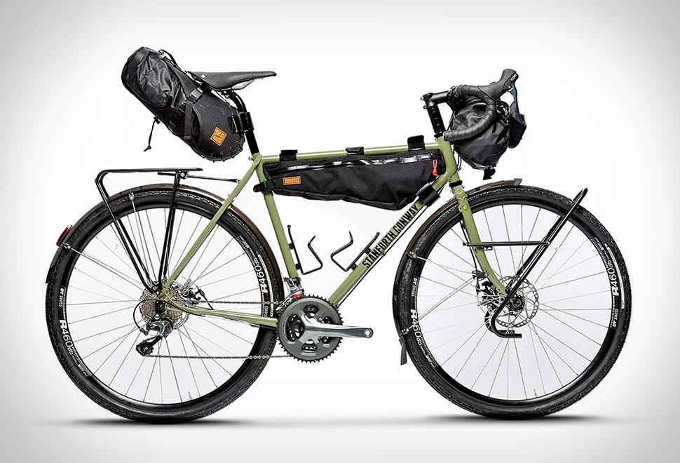 176c25bae33 Yetenekleri ve tasarımı ile bikepacking akımının öncülerinden olacak gibi  görünen bu tur bisikletinin başlangıç fiyatı ise $3,900 civarında.