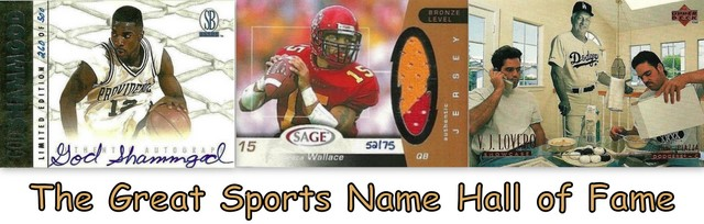 The Great Sports Name Hall of Fame