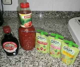 Disfrutabox: Granini, Gogo, sirope Maple Joe
