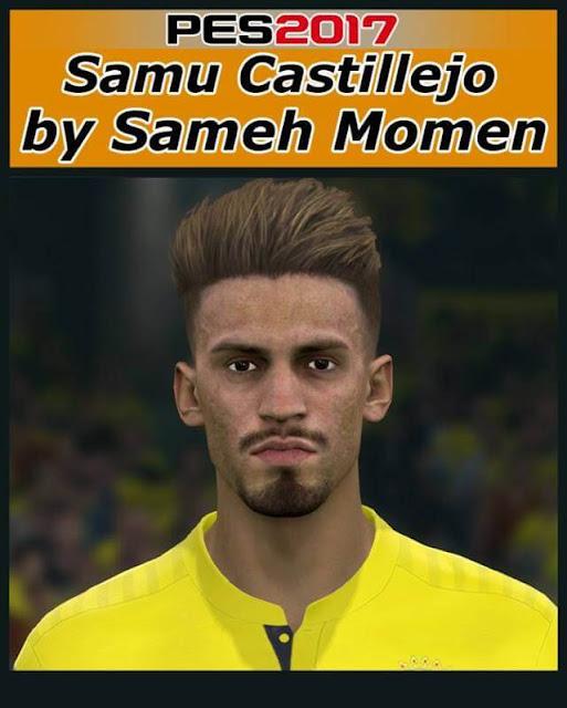 Face Samu Castillejo PES 2017
