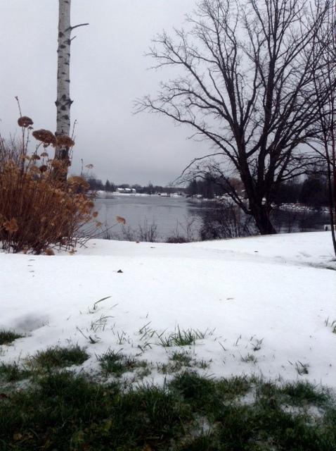 snow is leaving