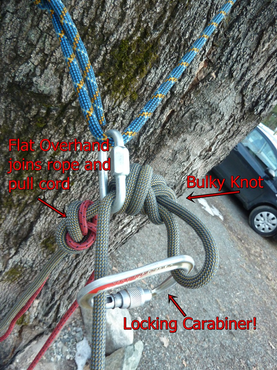 Bigfoot Mountain Guides How To Use A Pull Cord For Rappelling
