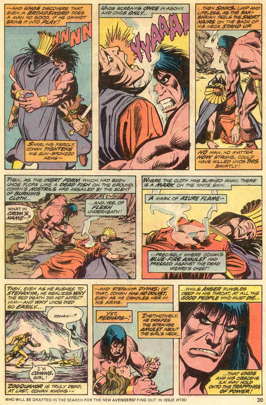 Conan the Barbarian (1970) Issue #51 #63 - English 18
