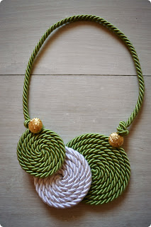 Nice cord necklace ideas