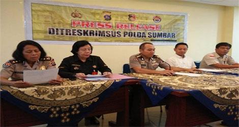 Dirtesrkrimsus Polda Sumbar Tangkap Pelakun Illegal Logging