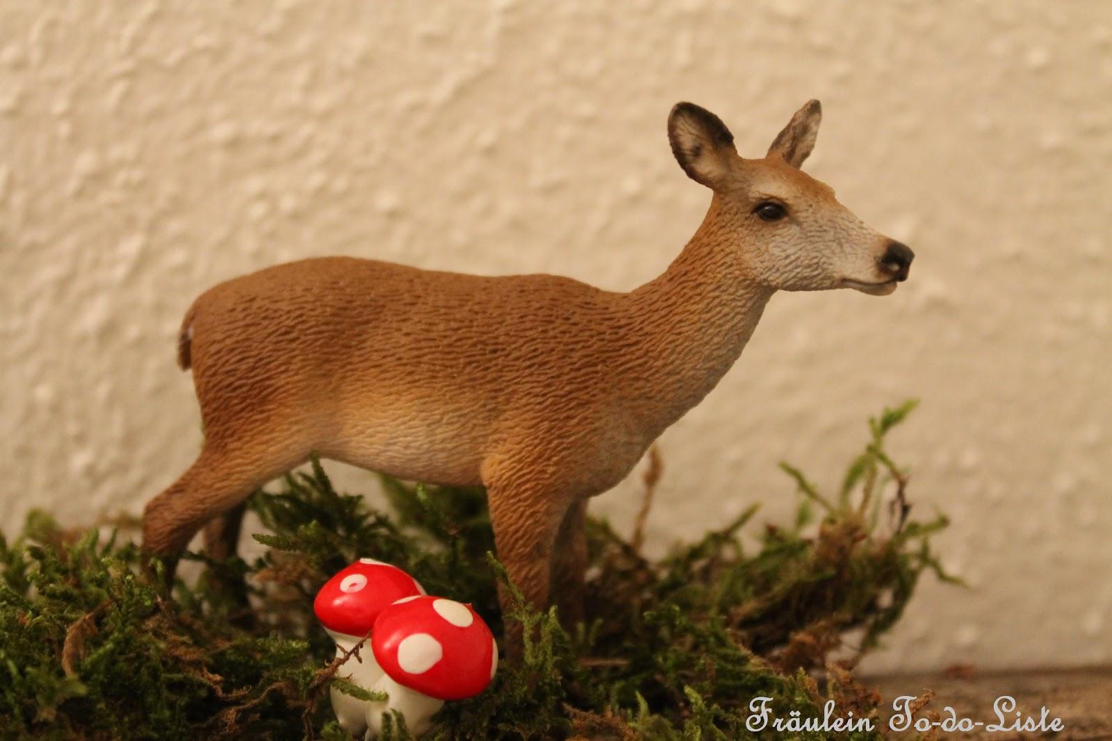 Fräulein To-do-Liste: Herbstliche Deko: Tiere Aus Dem Wald