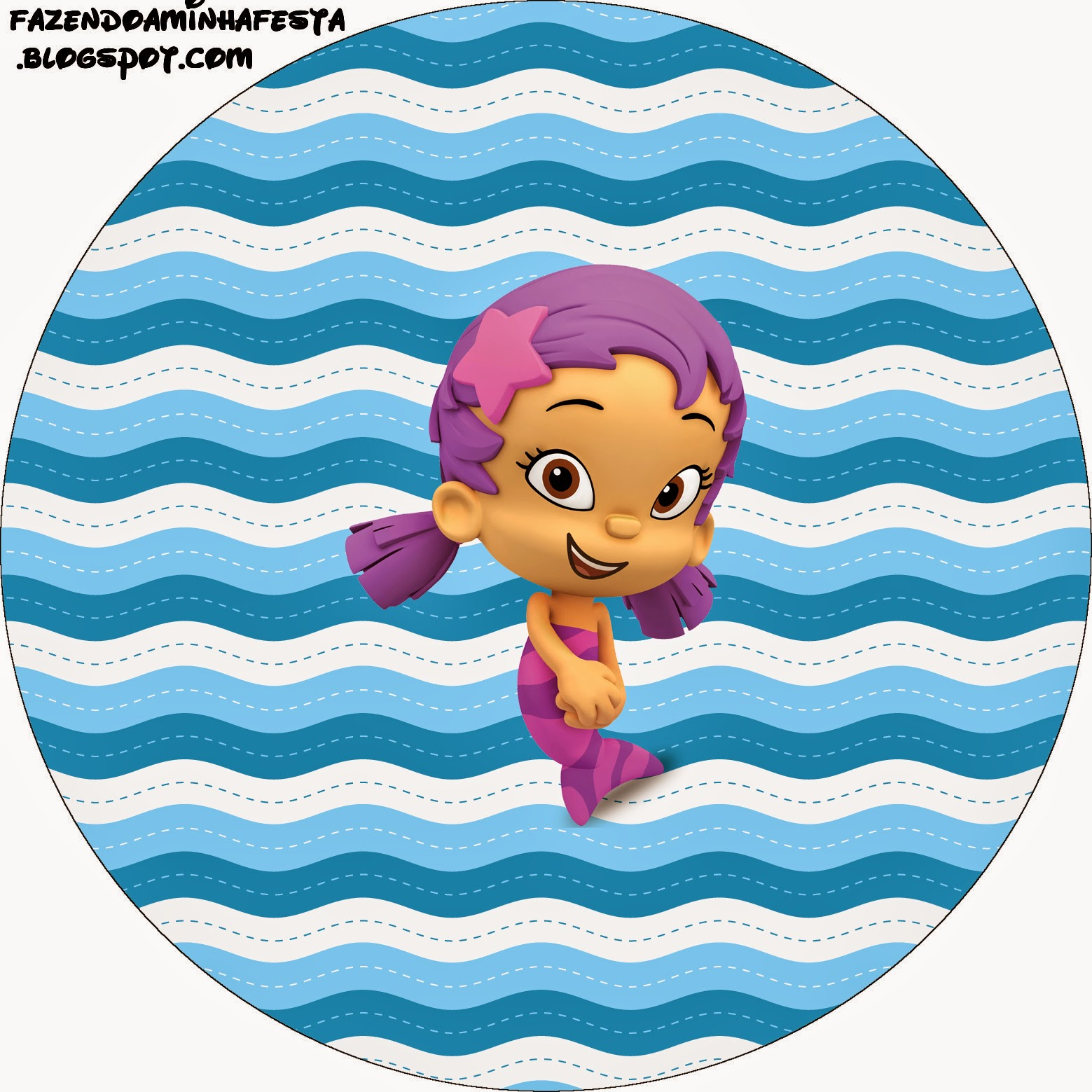 Bubble Guppies Free Printable Candy Bar Labels. | Oh My ...
