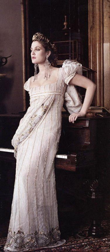 Vestido a bela e a fera moda em 2005