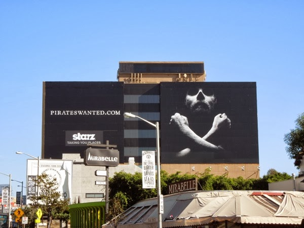 Black Sails series premiere teaser billboard