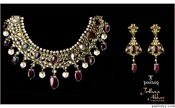 Jodha akbar jewellery sets online shopping