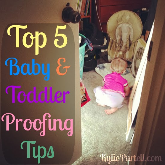 top baby proofing tips, baby proofing, baby proofing hints, baby proofing tricks