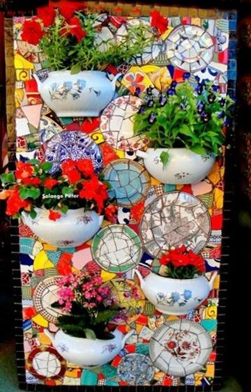 artystyczna mozaika
