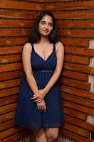 Radhika Mehrotra in a Deep neck Sleeveless Blue Dress at Mirchi Music Awards South 2017 ~  Exclusive Celebrities Galleries 008.jpg