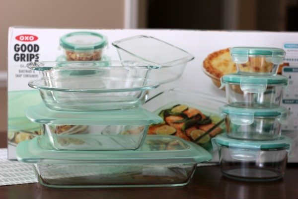 OXO Glass, Bake, Serve & Store Set