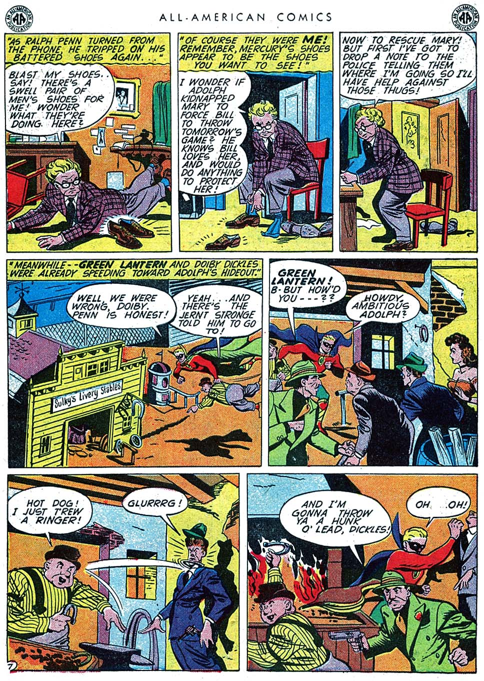 Read online All-American Comics (1939) comic -  Issue #66 - 9