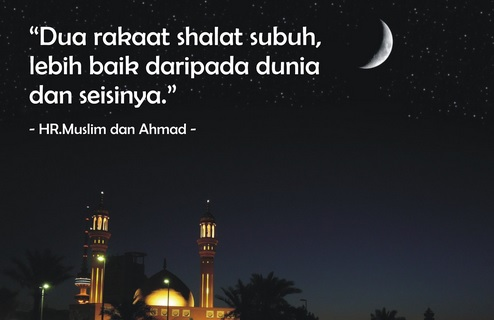 Cara Shalat Sunnah Fajar beserta Dzikirnya