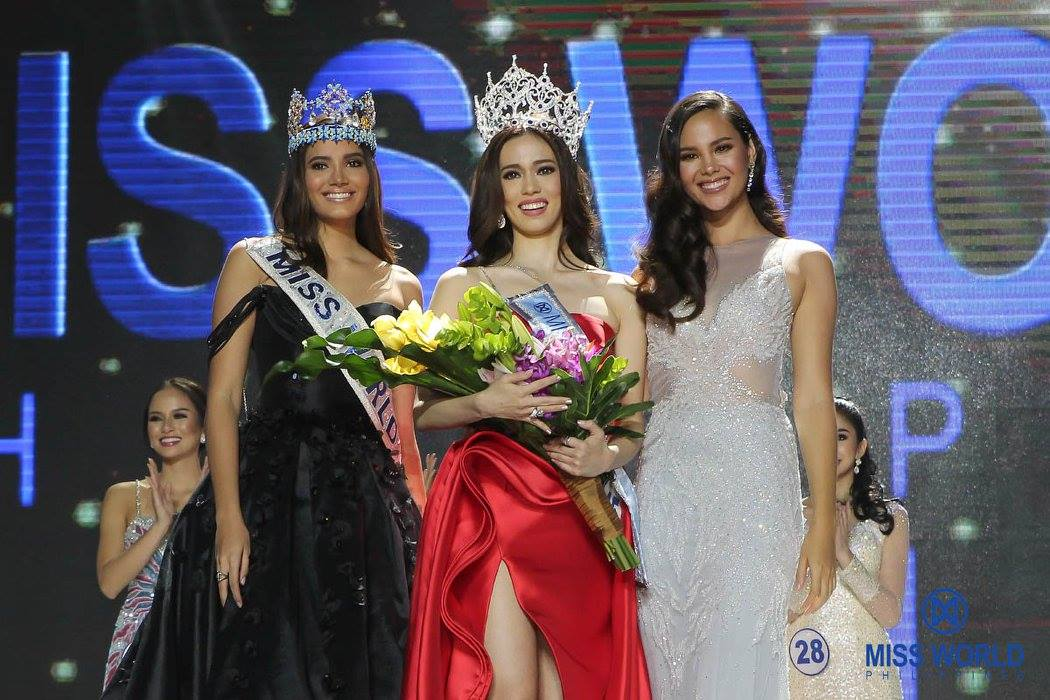 SASHES AND TIARAS..Miss World Philippines 2017: The